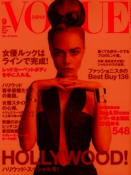cara working it for vogue japan by imageamplified official, on flickr