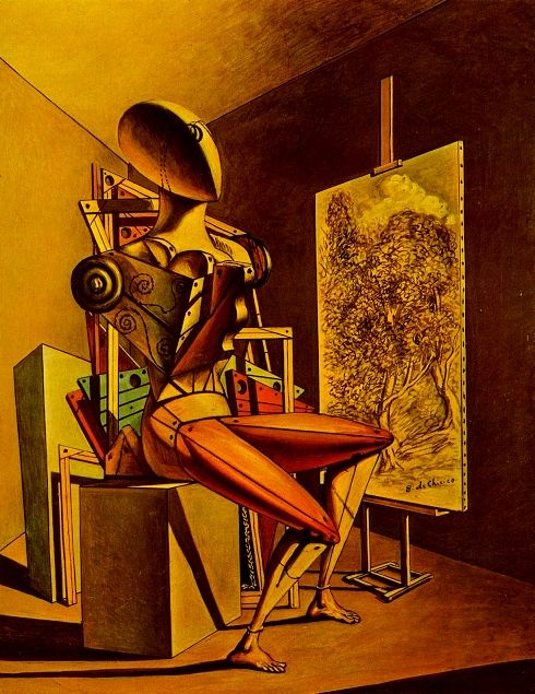giorgio de chirico 'painter' by the artsy fartsy network, on flickr