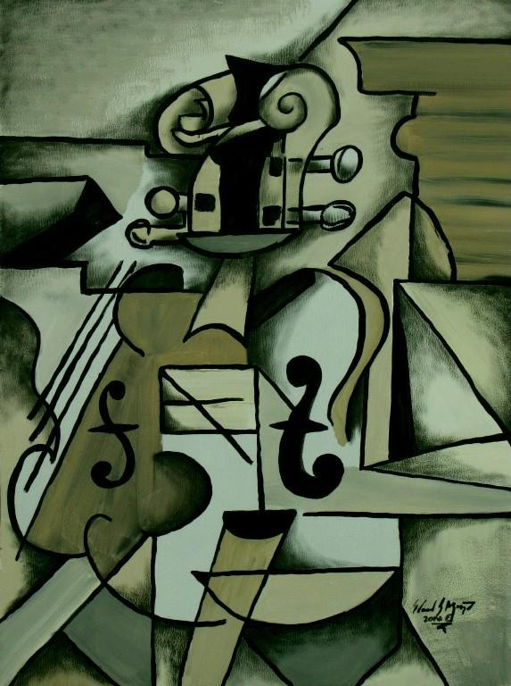 picasso's violin by eddietheyeti.deviantart.com