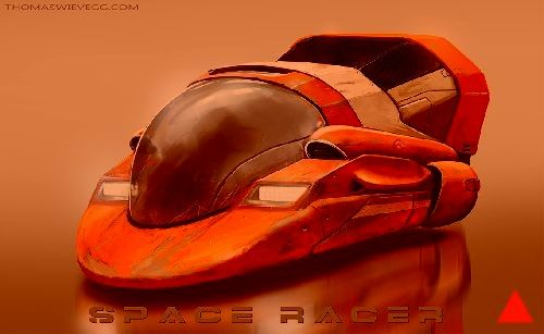 space racer by thomaswievegg.deviantart.com